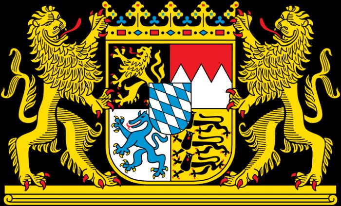 Dieses Bild hat ein leeres Alt-Attribut. Der Dateiname ist Logo-Freistaat-Bayern-700x424.png